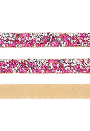www.sayila.com - Strass cord self-adhesive, 10mm wide