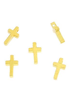 www.sayila.nl - Brass kralen kruis 12x7mm