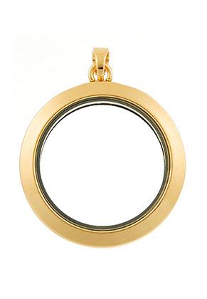www.sayila.nl - Metalen hanger medaillon 'Floating Charm Locket' 45x35mm