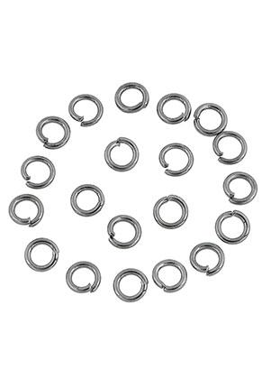 www.sayila.nl - Metalen ringetjes rond 4mm (± 200 st.)