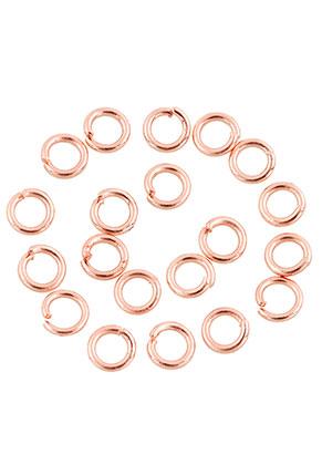 www.sayila.com - Metal jump rings round 4mm (± 200 pcs.)