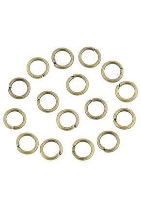 www.sayila.es - Anillos de metal redondo 5mm (± 145 pzs.)