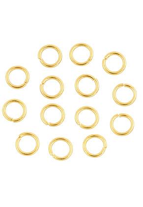 www.sayila.com - Metal jump rings round 6mm (± 115 pcs.)