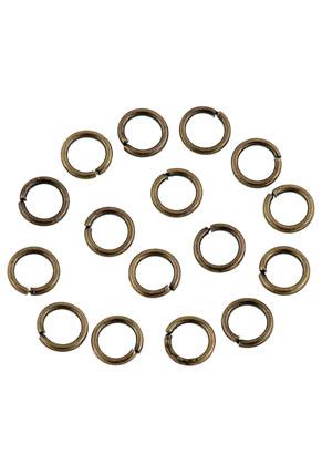 www.sayila.nl - Metalen ringetjes rond 6mm (± 115 st.)