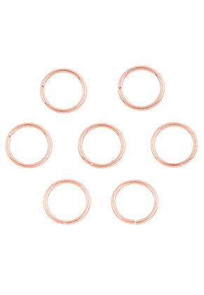 www.sayila.es - Anillos de metal redondo 10mm (± 50 pzs.)