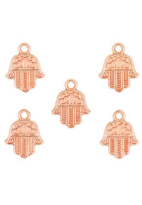 www.sayila.co.uk - Metal pendants/charms hand of Fatima 17x13mm
