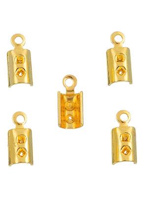 www.sayila.nl - Metalen veter/leerklemmetjes 9,5x4mm