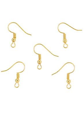 www.sayila.com - Metal French ear wires 20x18mm (20 pairs)