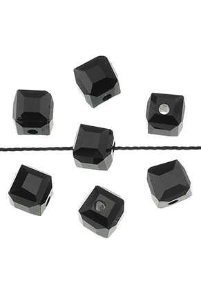 www.sayila.com - Glass beads crystal cube faceted 5,5mm