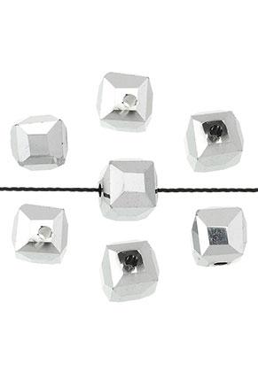www.sayila.nl - Glaskralen kristal kubus facet geslepen 5,5mm