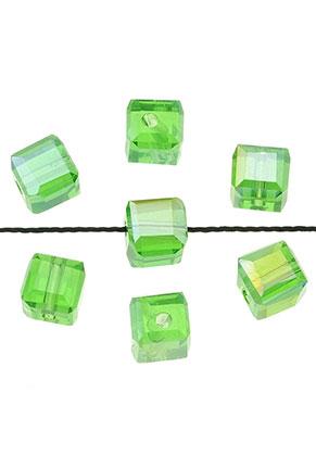 www.sayila.es - Abalorios de vidrio cristal cubo con facetas 5,5mm