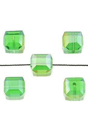 www.sayila.nl - Glaskralen kristal kubus 10mm