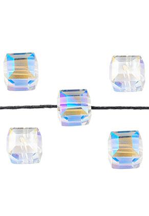 www.sayila.nl - Glaskralen kristal kubus 12mm