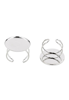 www.sayila.com - Metal rings <= Ø 20mm with setting for 25mm flatback