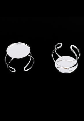 www.sayila.com - Metal rings <= Ø 20mm with setting for 18mm flatback
