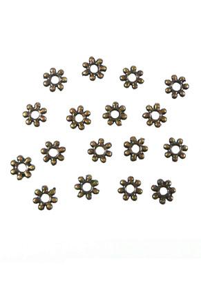 www.sayila.nl - Metalen kralen rondel plat 4mm (± 145 st.)