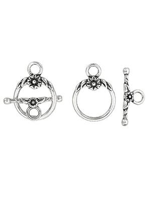 www.sayila.com - Metal toggle clasps 23,5x10mm, 23x17mm