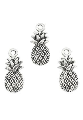 www.sayila.nl - Metalen hangers/bedels ananas 20x18mm