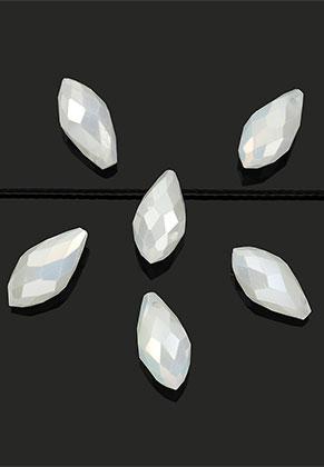 www.sayila.nl - Glaskralen kristal druppel 13x6mm