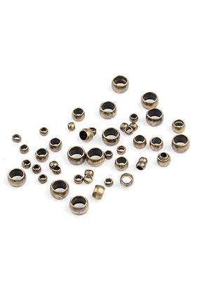 www.sayila.es - Mezcla de chafas de brass 2-4x1,3-2,5mm (± 400 pzs)