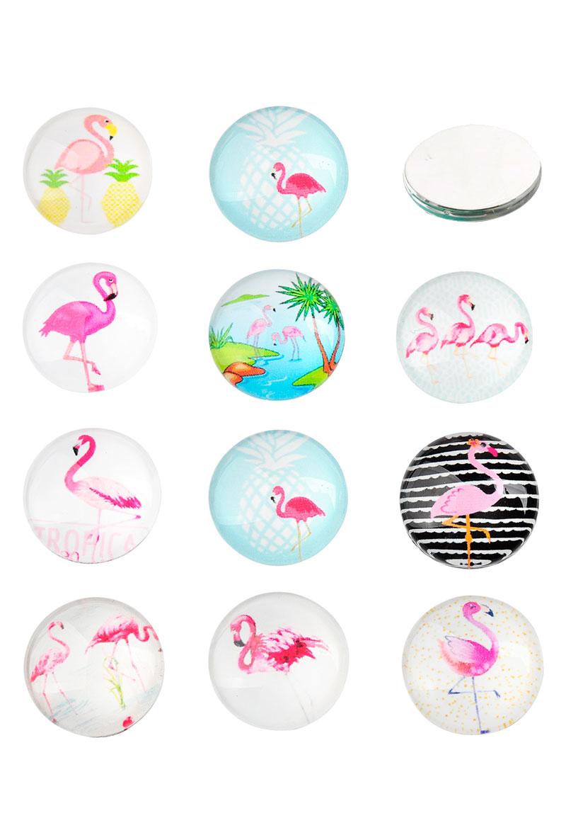 Mm Glass Flamingo