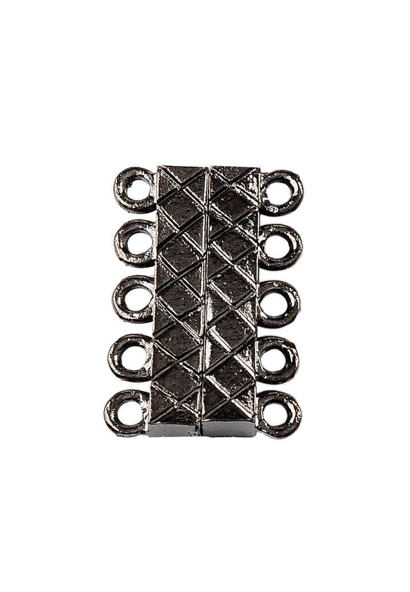 metall magnetische verschl ss mit 2x5 sen 21x16x5mm. Black Bedroom Furniture Sets. Home Design Ideas