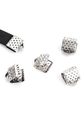 www.sayila.es - Terminal para cinta de metal para cordón y cuero 8x6mm