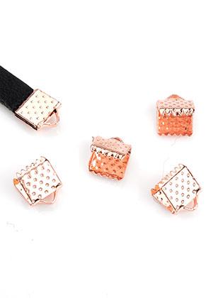 www.sayila.es - Terminales para cinta de metal para cordón y cuero 8x6mm