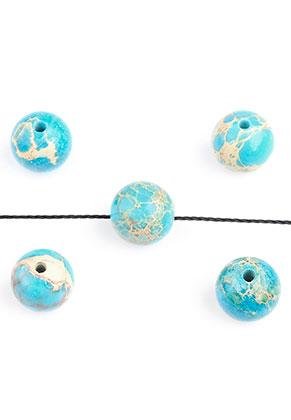 www.sayila.com - Natural stone beads Regalite round 8mm