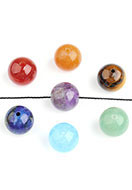 www.sayila.com - Mix natural stone beads round 8mm - D24933
