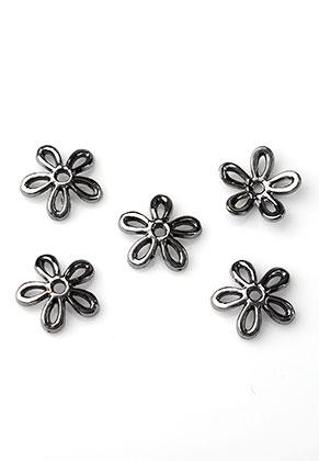www.sayila.nl - Metalen kapjes bloem 12x2,5mm