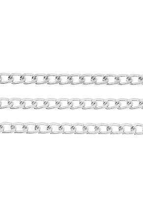 www.sayila.com - Aluminium chain with 6,5x4mm links (100cm)