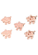 www.sayila.com - Metal pendants/charms sheep 18x16,5mm - D25235
