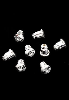 www.sayila.com - Brass earnuts 6x5mm