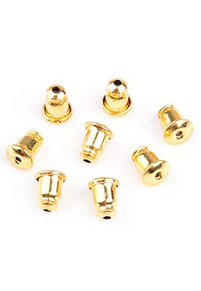 www.sayila.es - Tuercas para pendientes de brass 6x5mm
