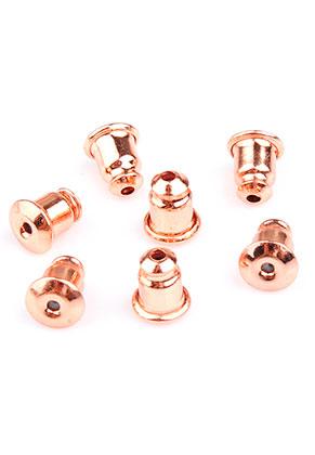 www.sayila.nl - Brass oorbellendopjes 6x5mm