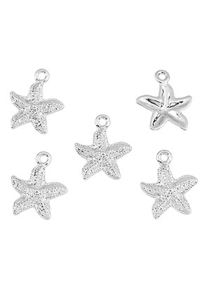 www.sayila.fr - Pendentifs/breloques en métal étoile de mer 18x15mm
