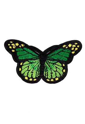 www.sayila.nl - Stoffen patch vlinder 75x47mm