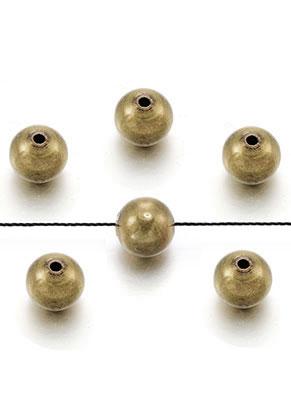 www.sayila.nl - Brass kralen rond 8mm