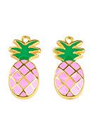 www.sayila.co.uk - Metal pendants ananas 23,5x11,5mm - D25429