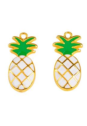 www.sayila.com - Metal pendants pineapple 23,5x11,5mm