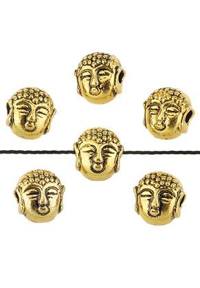 www.sayila.nl - Metalen kralen Boeddha 7,5x7mm