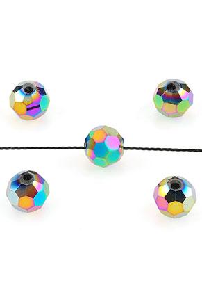 www.sayila.es - Abalorios de vidrio cristal redondo con facetas 8mm