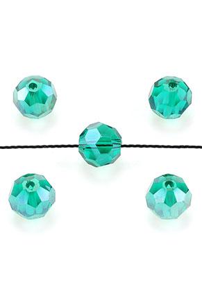 www.sayila.nl - Glaskralen kristal rond facet geslepen 8mm