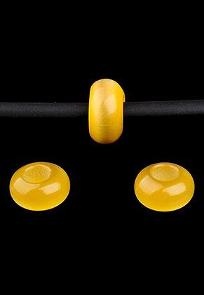 www.sayila.fr - Style grand-trou perles en verre cateye 14x7,5mm
