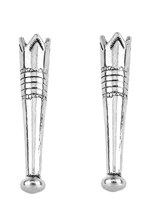 www.sayila.com - Metal bolo tie end cap/bolo tip 51x10mm