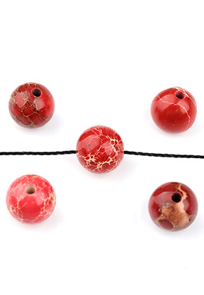 www.sayila.co.uk - Natural stone beads Regalite round 8mm