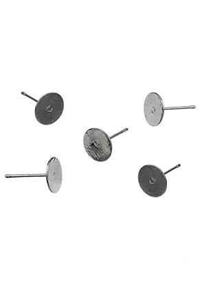 www.sayila.es - Pendientes de brass 12x8mm para piedras adhesivo > 8mm (excl. tapas)