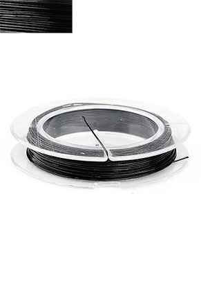 www.sayila.com - Steel wire with coated 0,38mm roll 10 meter