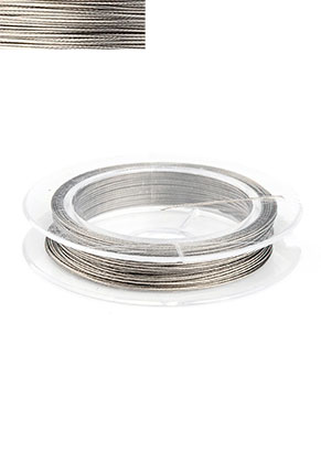 www.sayila.com - Steel wire with coated 0,45mm roll 10 meter